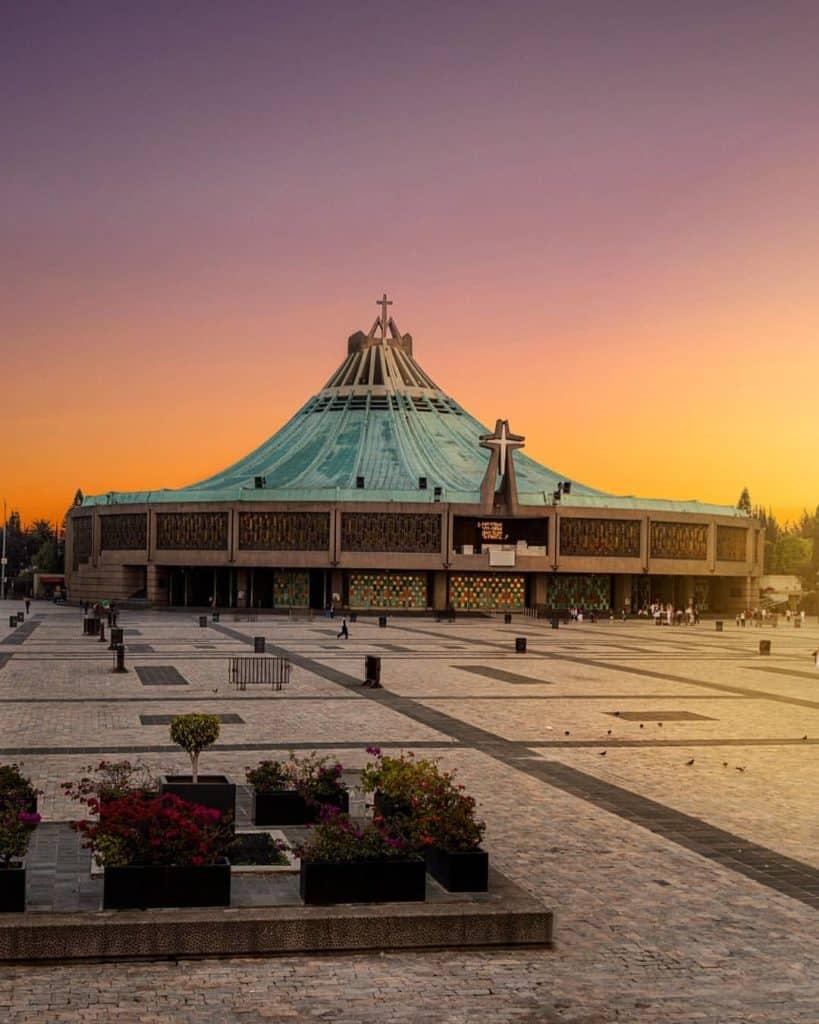 BASILICA DE GUADALUPE LA VILLA CERRO DEL TEPEYAC CIUDAD DE MEXICO CITY