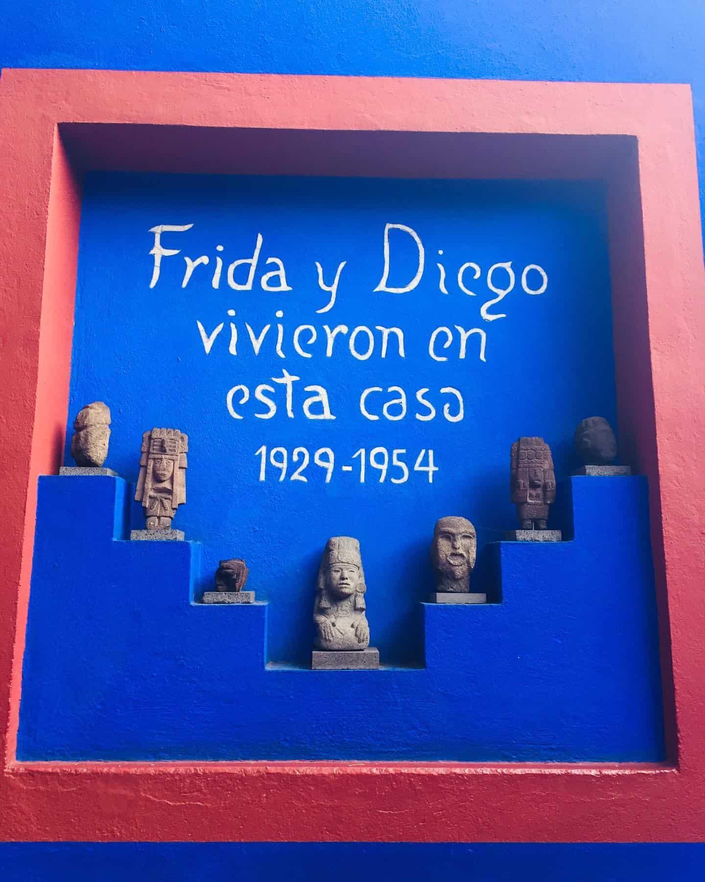 FRIDA KHALO MUSEUM MUSEO CASA AZUL BLUE HOUSE