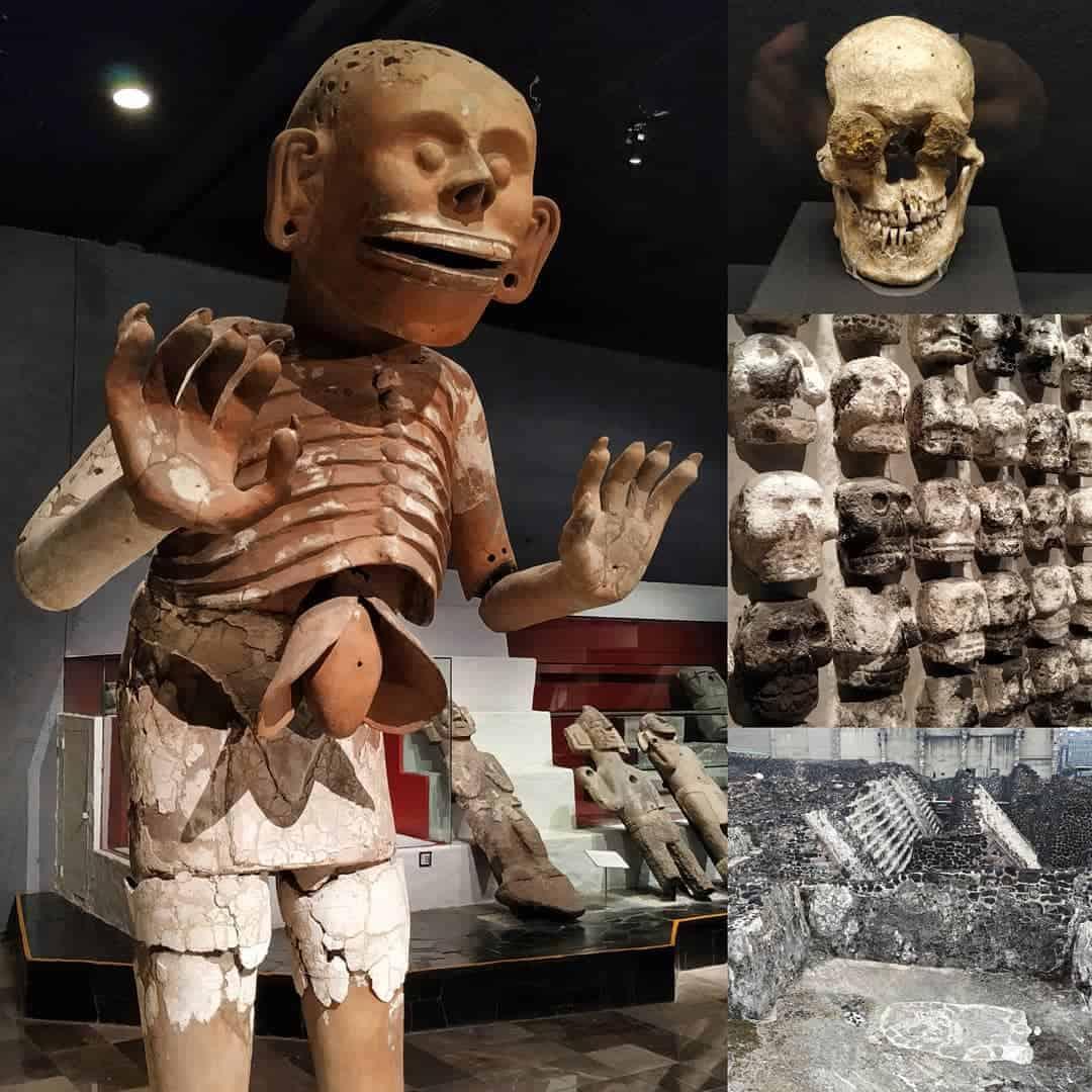 MUSEO TEMPLO MAYOR MUSEUM CIUDAD DE MEXICO CITY