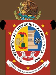 Escudo Estado De Oaxaca Mexico
