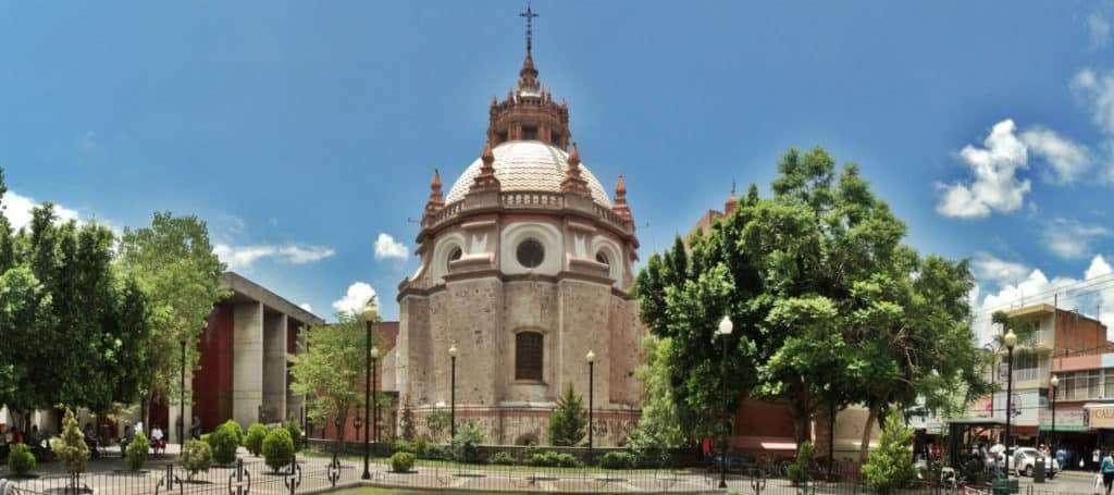 Templo de San Diego en Aguascalientes