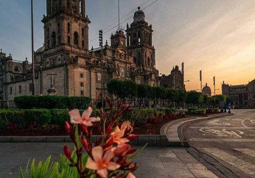 Centro Historico de la ciudad de mexico city