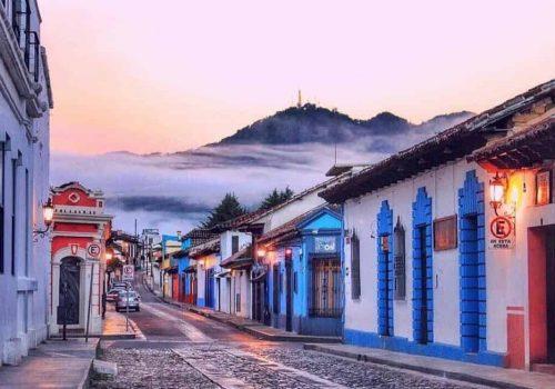 SAN CRISTOBAL DE LAS CASAS CHIAPAS PUEBLO MAGICO MEXICO