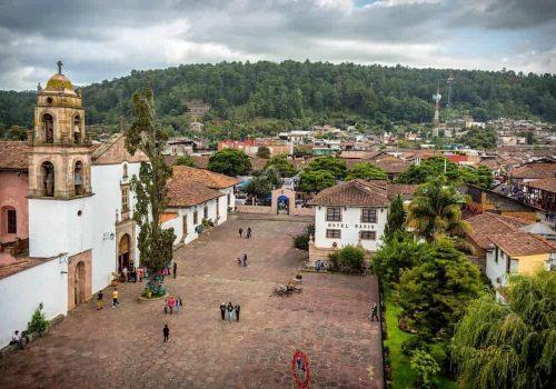 SANTA CLARA DEL COBRE MICHOACAN PUEBLO MAGICO MEXICO